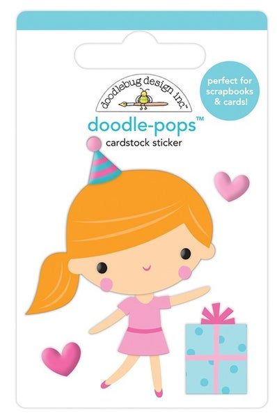 Doodlebug Design - Hey Cupcake  Doodle-Pops Party Girl