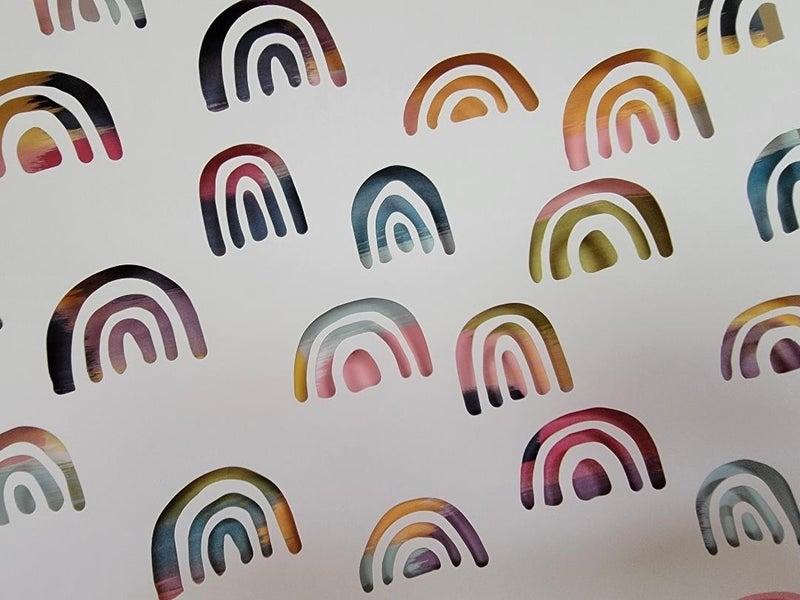 Rainbow Diecut Paper Set