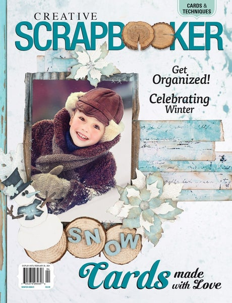 CREATIVE SCRAPBOOKER MAGAZINE WINTER 2020/2021