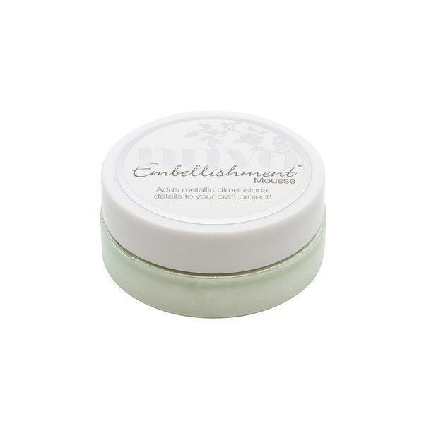 Nuvo - Merry and Bright Collection - Embellishment Mousse - Honeydew