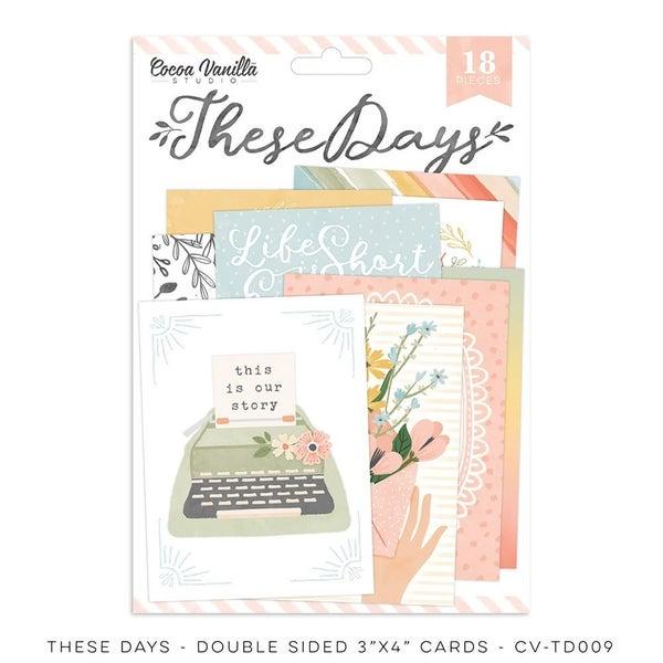Cocoa Vanilla Studio THESE DAYS – POCKET CARDS