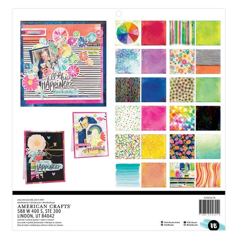 Vicki Boutin  Color Study  12 x 12 Paper Pad