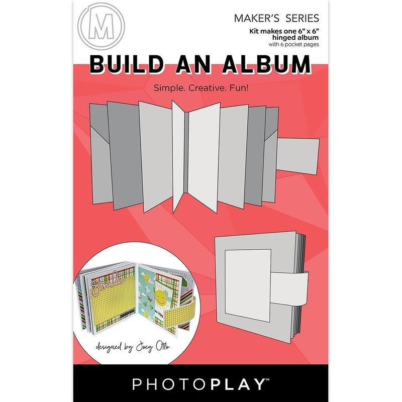Photo Play Paper  Maker's Series Build An Album - 6 x 6
