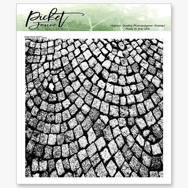 Picket Fence Studios Cobblestone Path Stamp