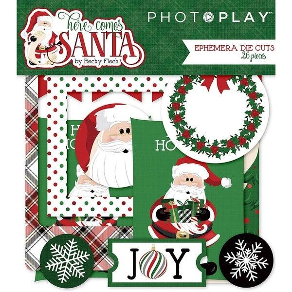 PhotoPlay Here Comes Santa Ephemera