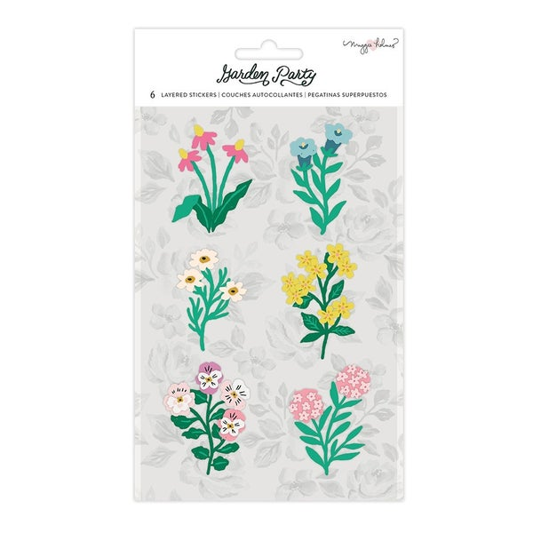 Maggie Holmes Garden Party Layered Paper Stickers