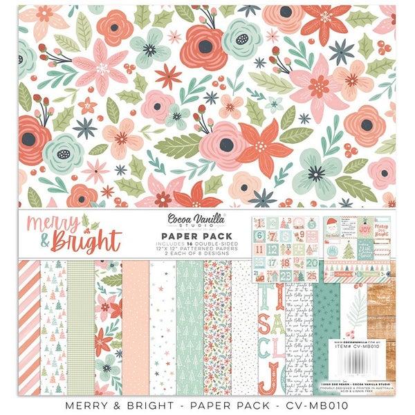 Cocoa Vanilla Studio Merry & Bright 12 x 12 Collection Kit