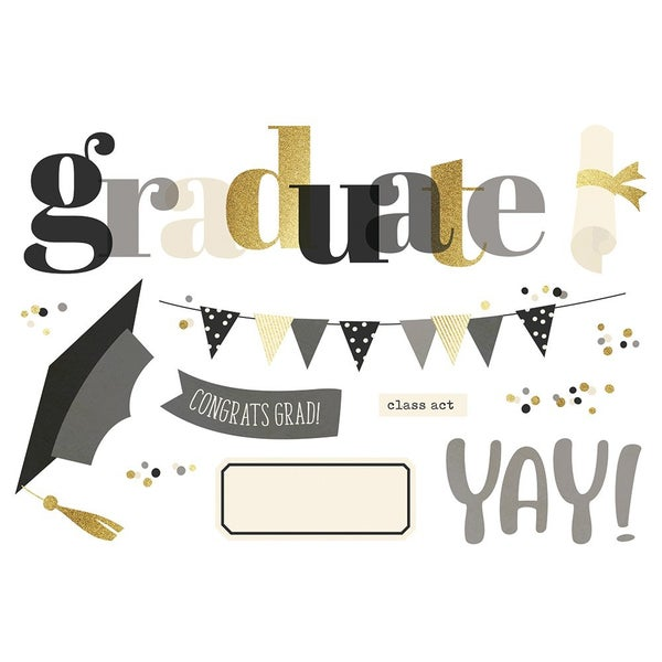 Simple Stories Simple Pages Graduation Page Pieces