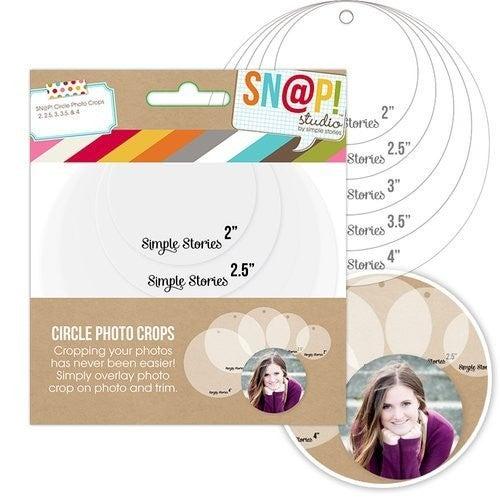 Simple Stories - SNAP Studio Photo Crops - Circle