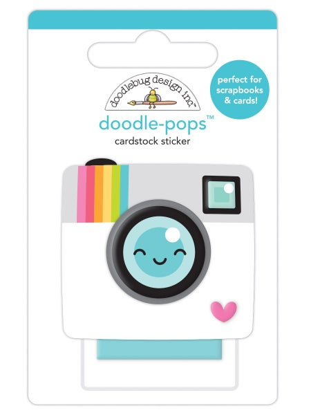 Doodlebug Design Cute & Crafty Collection  Doodle-Pops - Oh Snap