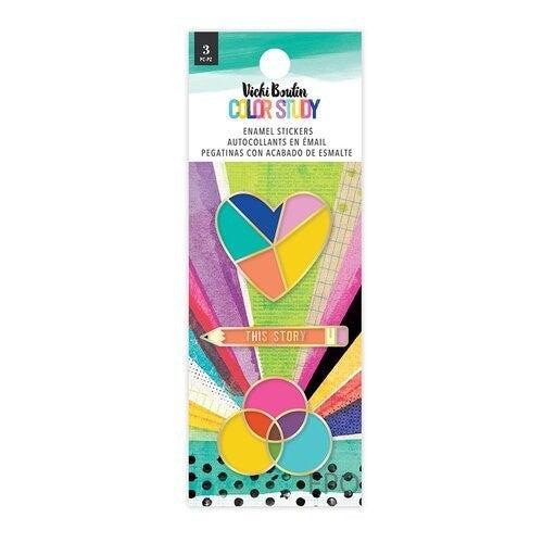 Vicki Boutin Color Study Enamel Stickers