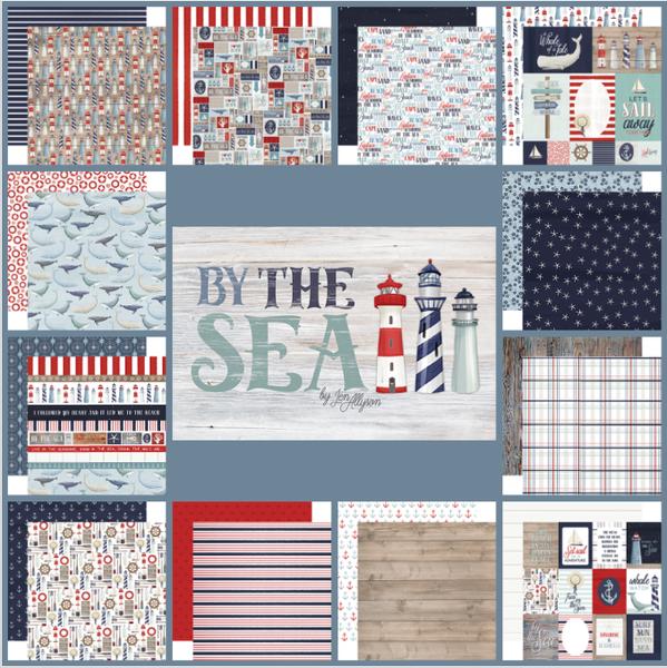 Carta Bella By The Sea 12pc Paper Set