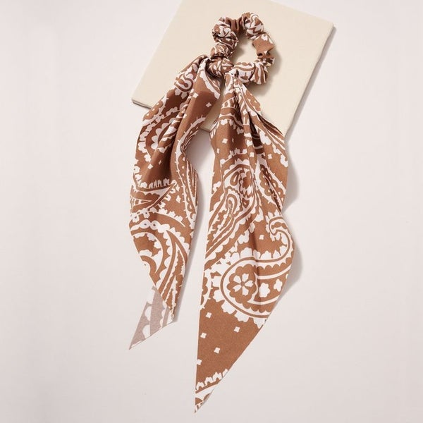 Paisley Scarf Pony *more colors available*