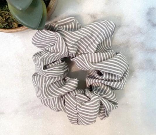 Stripe Scrunchies