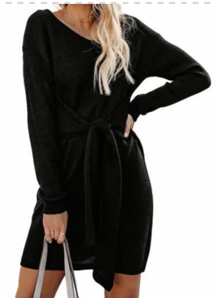 The Harper Sweater Dress