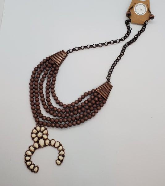 Squash Blossom Necklace & Earring Set