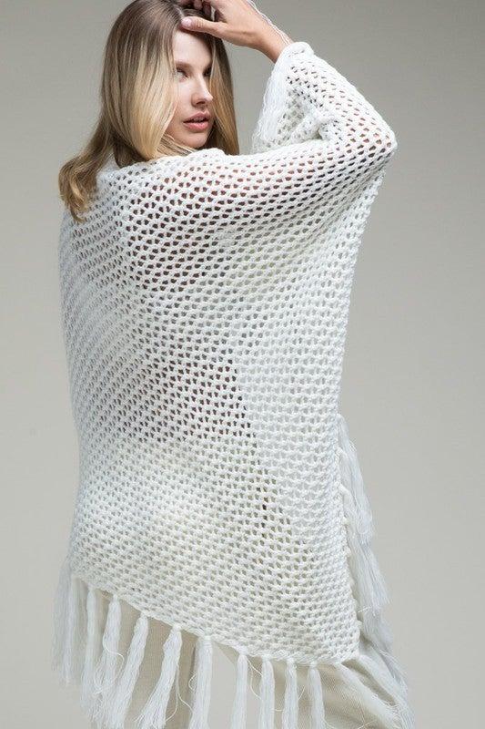 Knit Stitch Shawl