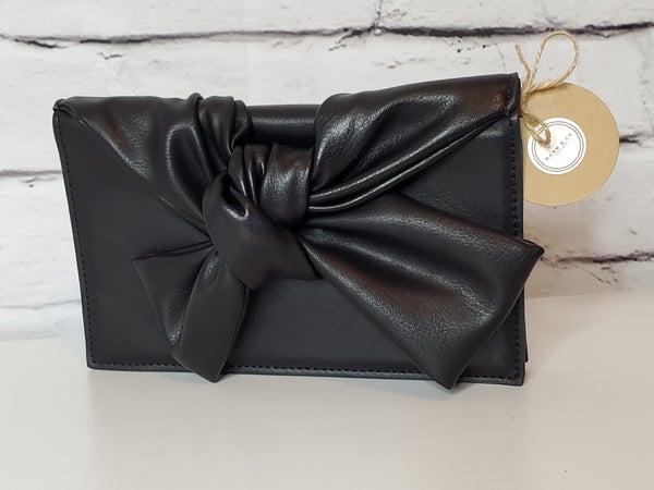 Convertible Clutch with Bow