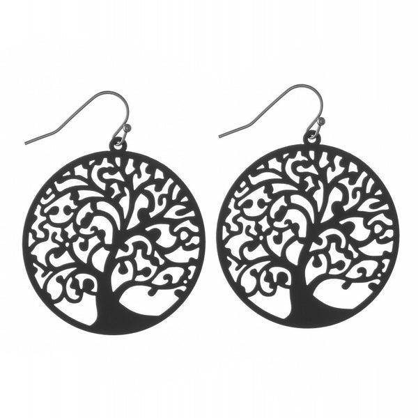 Tree of Life Filigree Earrings