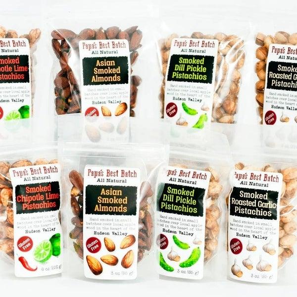 Smoked Almonds & Pistachios