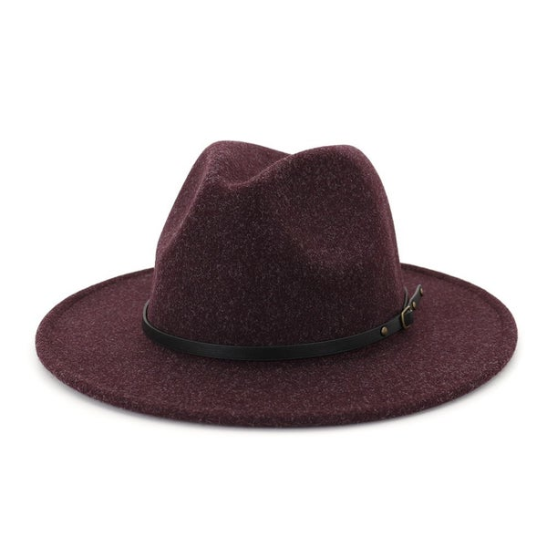Thin Belt Fedora