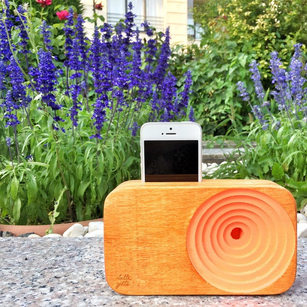 Wooden Speaker for Smart Phone