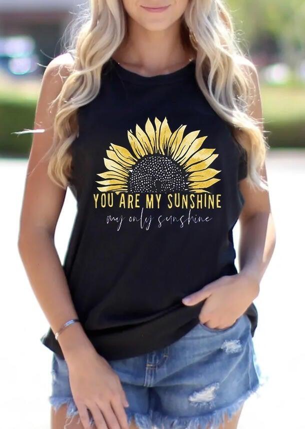 You Are My Sunshine Tank