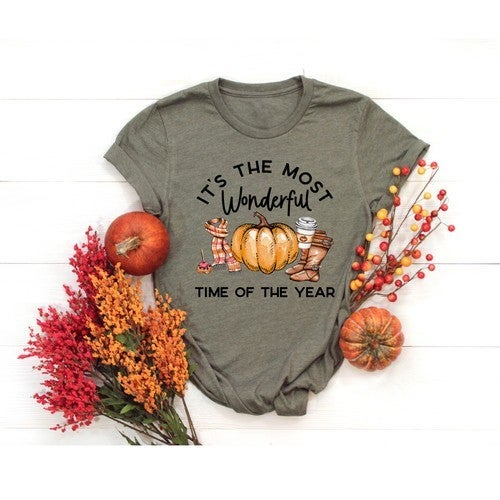 Most Wonderful Time of the Year FALL Tee