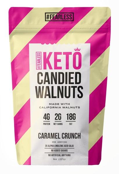 KETO Candied Walnuts