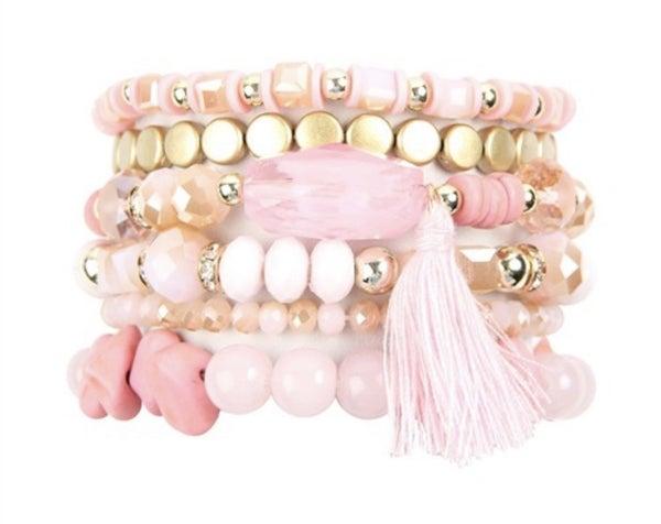 Boho Charm Tassel Bracelet