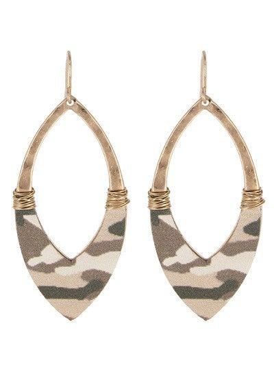 Open Marquee Earrings