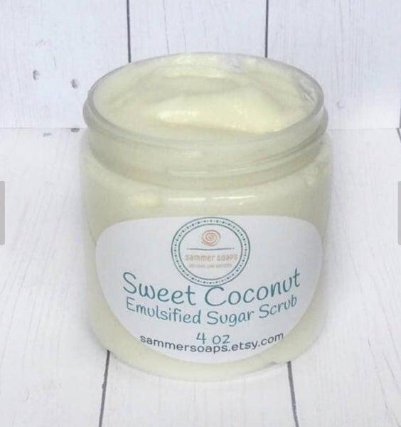 Sweet Coconut Body Sugar Scrub