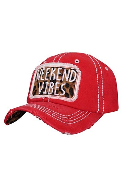 Weekend Vibes Baseball Hat