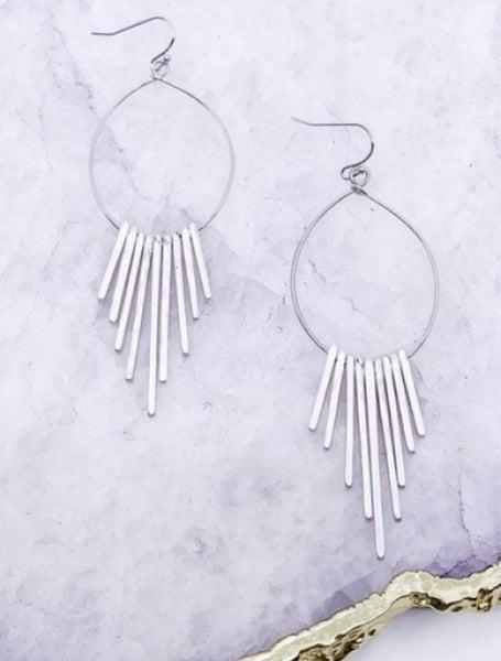 Multi Bar Drop Earrings