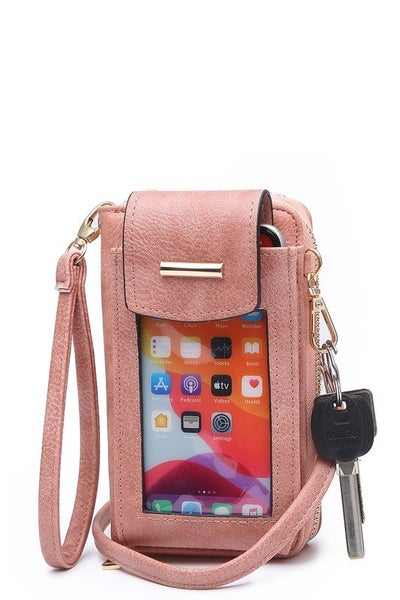 Crossbody Cell Phone Wallet