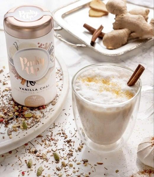 Vanilla Chai Loose Leaf Tea & Infuser Bottle Set