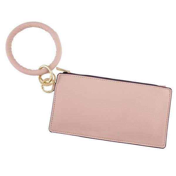 Blush Keychain Wallet
