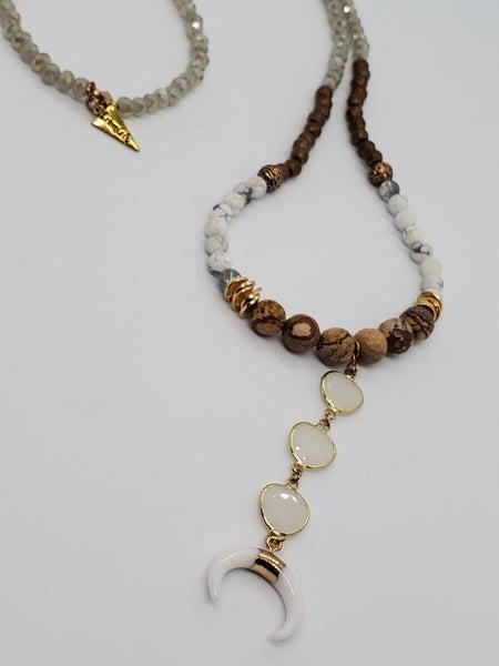 Erimish Horn Necklace