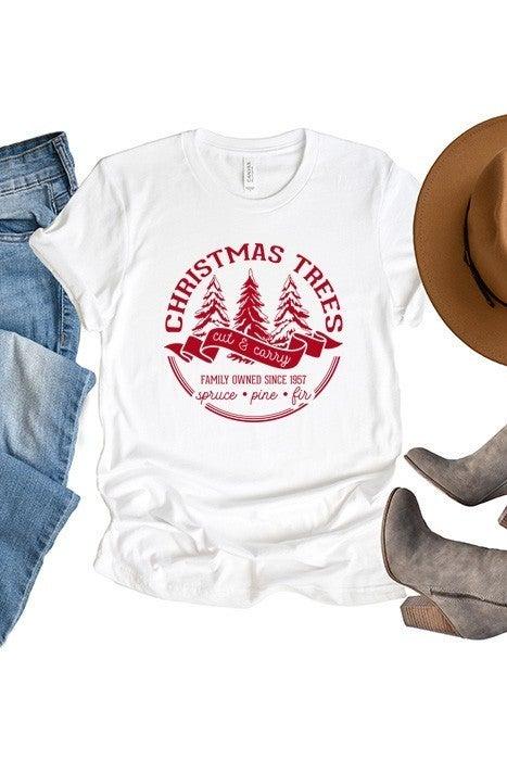 Christmas Tree Cut & Carry Tee