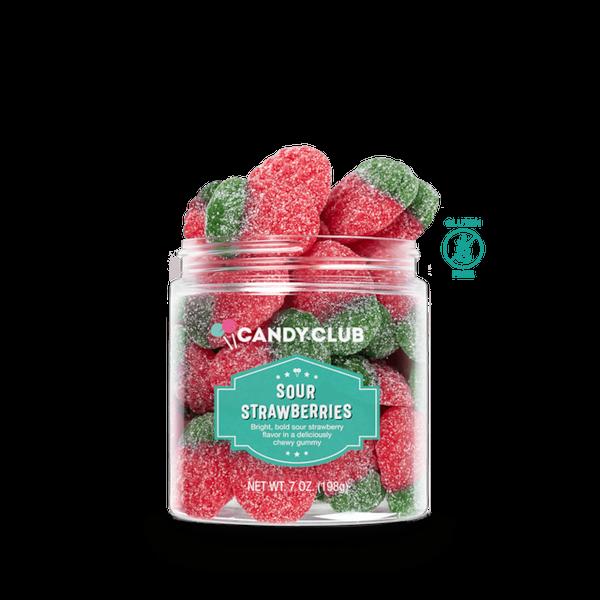 Gluten Free Sour Strawberries