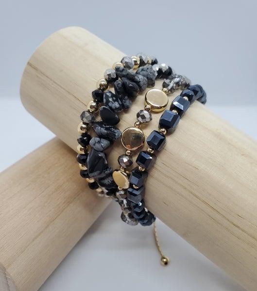 Toggle Bead Bracelet