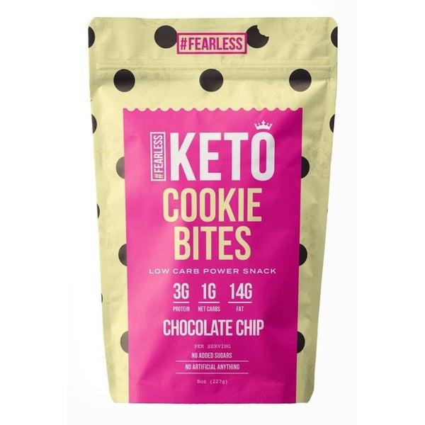 KETO Chocolate Chip Cookie Bites