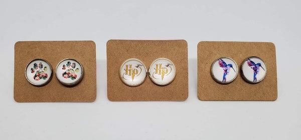 Image Stud Earrings
