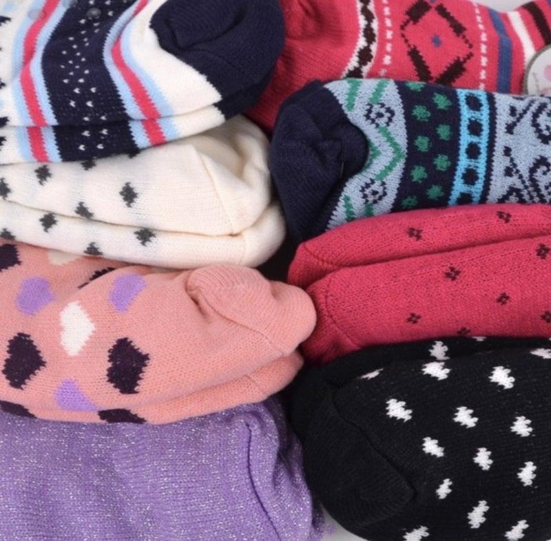 Women's Sherpa Slipper Socks