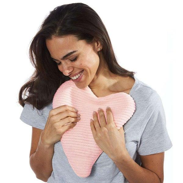 Pink Heart Warmies Heat Pad