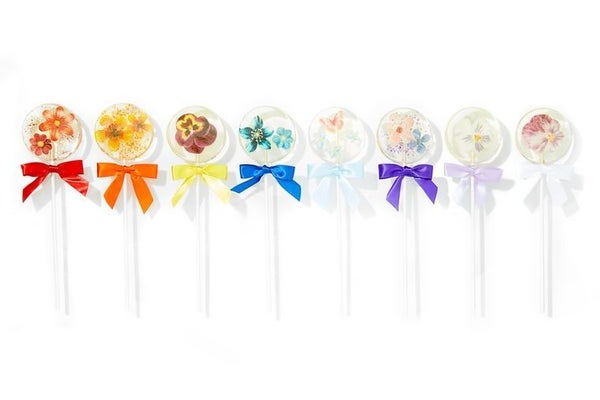 Edible Flower Lollipop