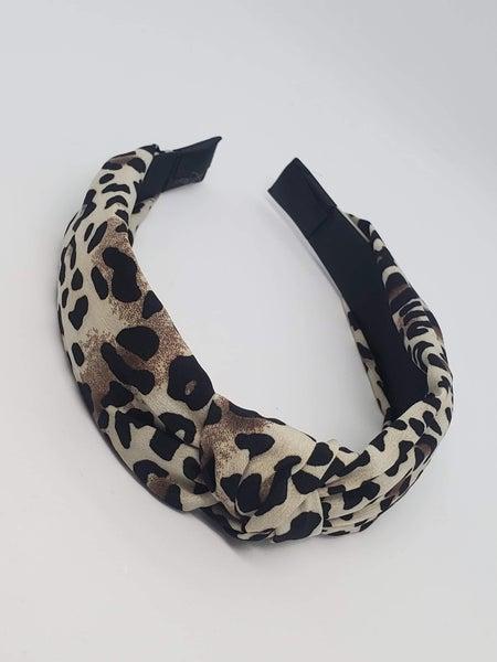 Thin Leopard Headband