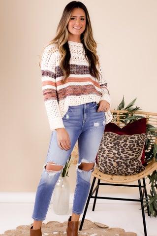 Biding Time Sweater