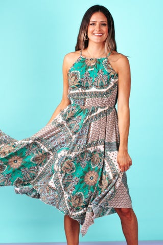 Somewhere Out West Dress