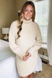 Midnight Sky Sweater Dress